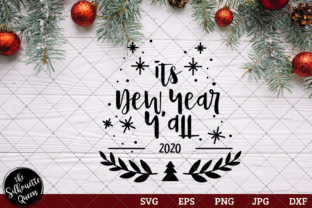 Download Free 2020 Its New Year Y All Graphic By Thesilhouettequeenshop for Cricut Explore, Silhouette and other cutting machines.