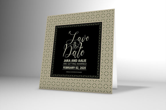 Download Free Floral Border Wedding Invitation Card Graphic By Patternhousepk SVG Cut Files