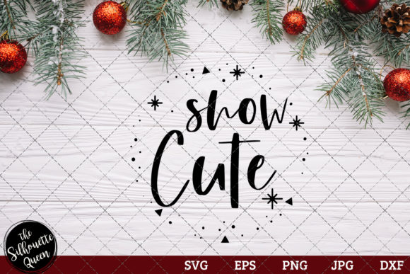 Snow Cute Saying Graphic Crafts By thesilhouettequeenshop
