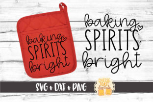 Download Free Baking Spirits Bright Graphic By Cheesetoastdigitals Creative for Cricut Explore, Silhouette and other cutting machines.