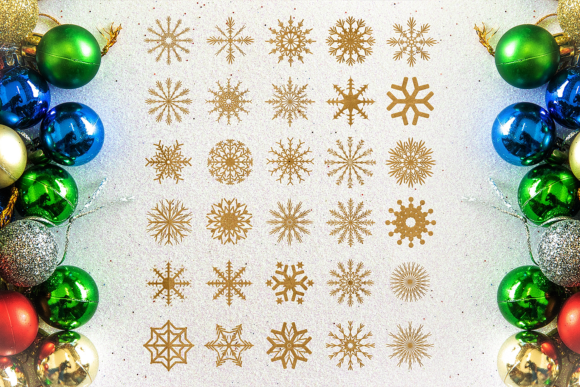 Snowflakes Graphic Crafts By Craft-N-Cuts - Image 1