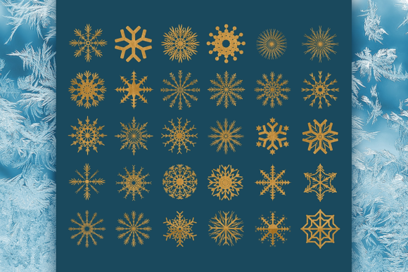 Snowflakes Graphic Crafts By Craft-N-Cuts - Image 2