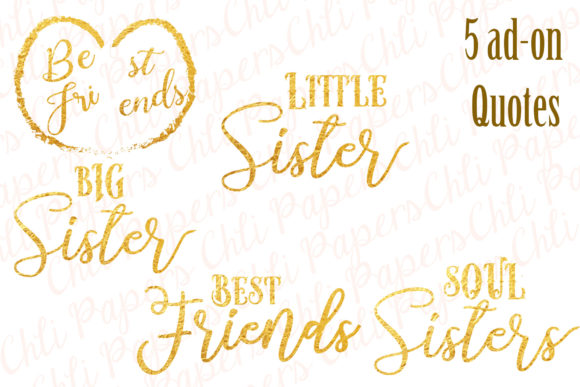 Best Friends Clipart Graphic Illustrations By ChiliPapers - Image 4