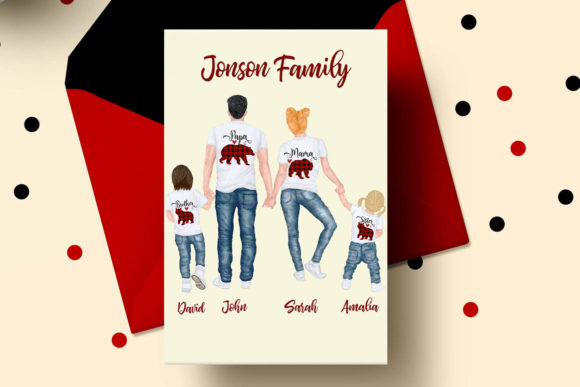 Family Clip Art Parents & Kids Graphic Illustrations By LeCoqDesign - Image 5