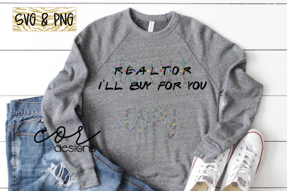 Print on Demand: Realtor I'll Buy for You Graphic Crafts By designscor