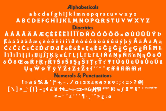 Print on Demand: Weiss Display Font By Jvne77 - Image 10