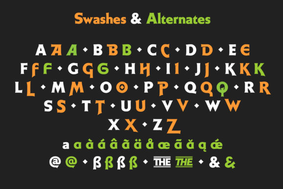Print on Demand: Weiss Display Font By Jvne77 - Image 11