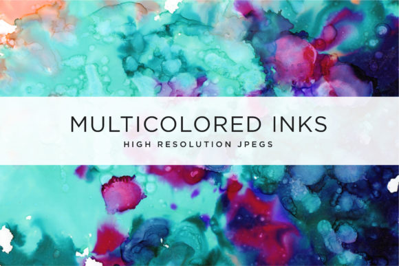 Multicolored Inks - Volume 1 Graphic Textures By Cassandra Cappello