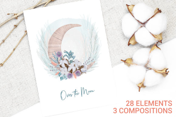 Print on Demand: Winter Decoration Set Graphic Illustrations By PawStudio