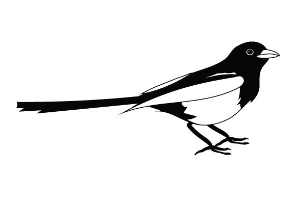 Download Free Magpie Svg Cut File By Creative Fabrica Crafts Creative Fabrica for Cricut Explore, Silhouette and other cutting machines.