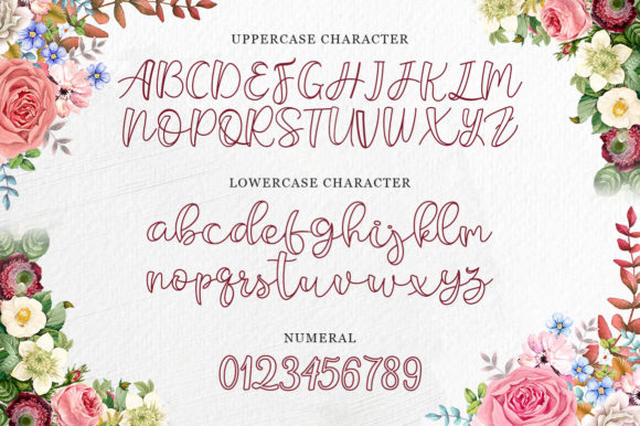 Print on Demand: Belligro Script & Handwritten Font By Kotak Kuning Studio - Image 3