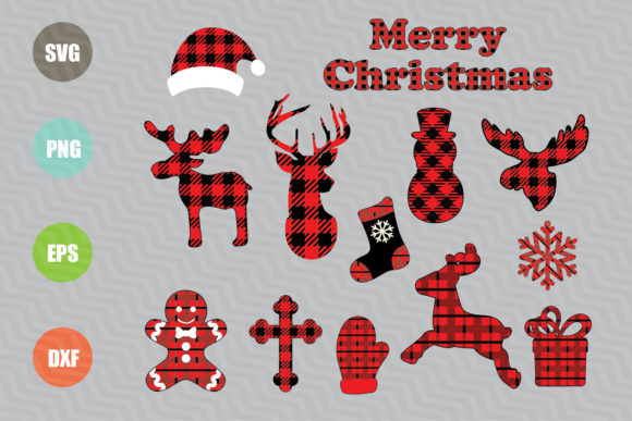 Christmas Ornaments Graphic Crafts By logotrain034