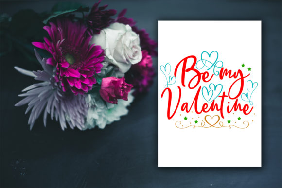 Print on Demand: Cute Valentine's Day Cards-Valentines Graphic Illustrations By Happy Printables Club - Image 3