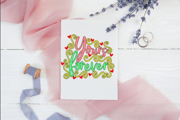 Print on Demand: Cute Valentine's Day Cards-Valentines Graphic Illustrations By Happy Printables Club - Image 5