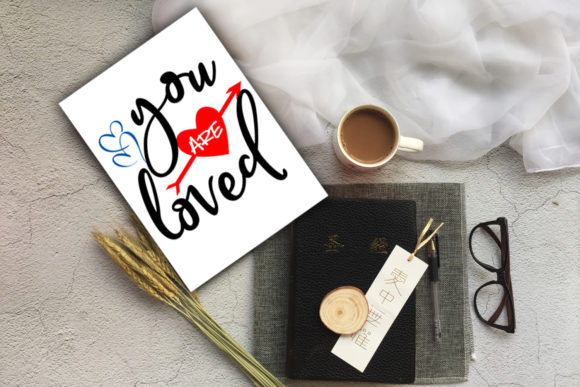 Print on Demand: Cute Valentine's Day Cards-Valentines Graphic Illustrations By Happy Printables Club - Image 11