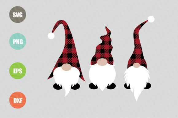 Download Free Christmas Gnomes Design Graphic By Logotrain034 Creative Fabrica for Cricut Explore, Silhouette and other cutting machines.