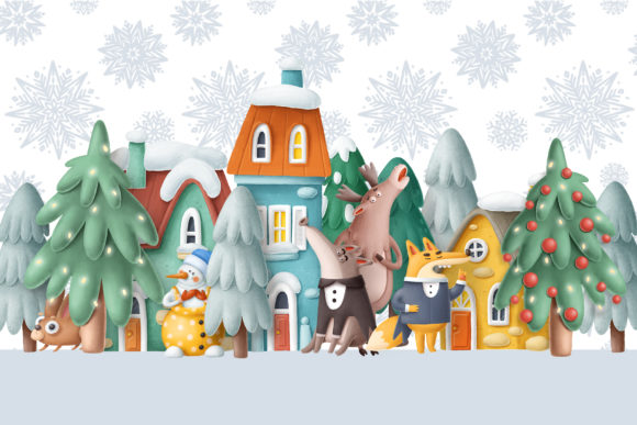 Print on Demand: BIG Christmas Bundle Graphic Illustrations By Architekt_AT - Image 5