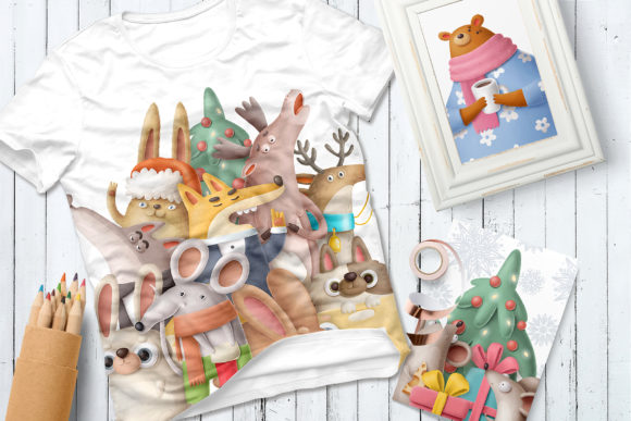 Print on Demand: BIG Christmas Bundle Graphic Illustrations By Architekt_AT - Image 4