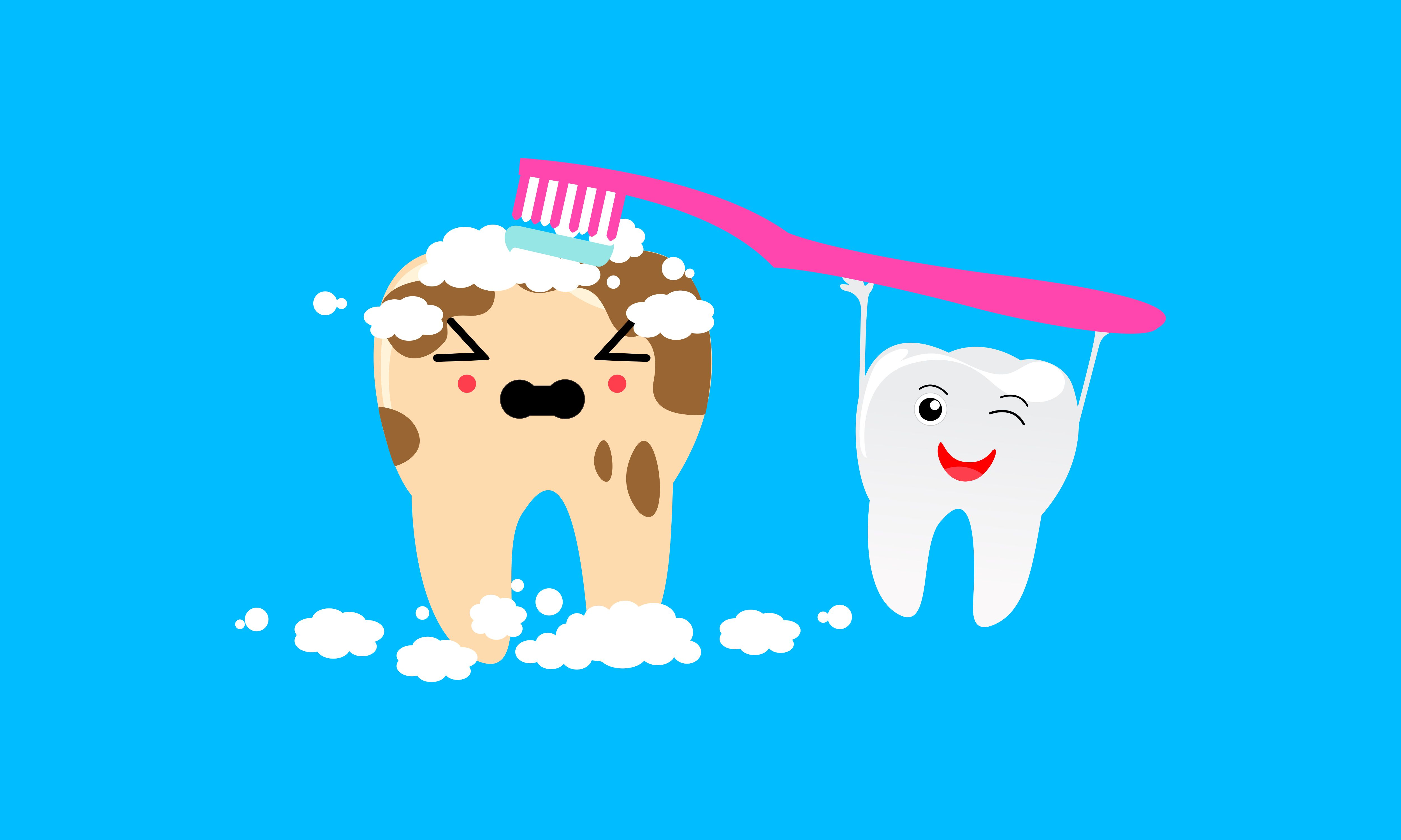 Download Free Dental Mascot Tooth Mascot Dental Logo Creative Fabrica for Cricut Explore, Silhouette and other cutting machines.
