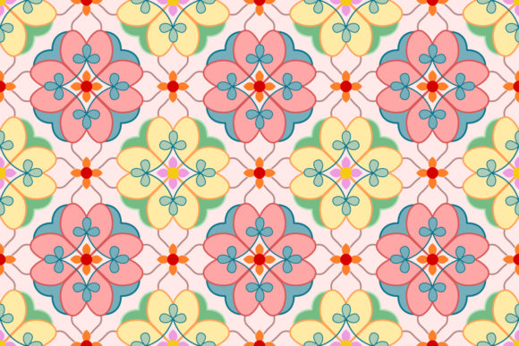 Download Free Decorative Elements Floral Pattern Graphic By Ranger262 for Cricut Explore, Silhouette and other cutting machines.