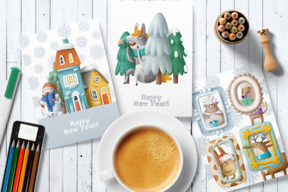 Print on Demand: BIG Christmas Bundle Graphic Illustrations By Architekt_AT - Image 2