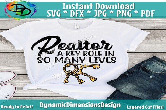Print on Demand: Realtor a Key Role in so Many Lives Graphic Crafts By dynamicdimensions