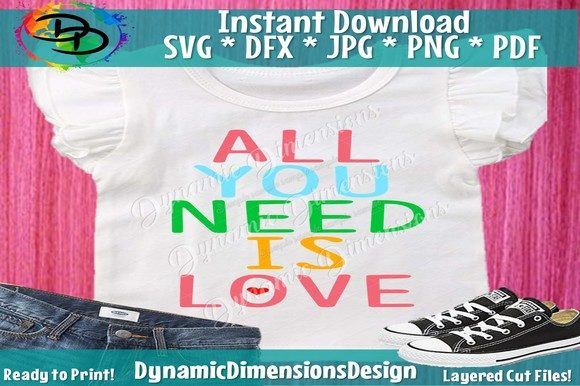 Print on Demand: All You Need is Love Graphic Crafts By dynamicdimensions