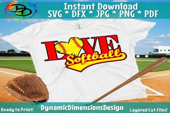 Print on Demand: Softball Graphic Crafts By dynamicdimensions