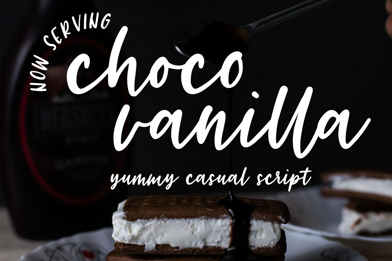 Download Free Choco Vanilla Font By Trojillojoannarose Creative Fabrica for Cricut Explore, Silhouette and other cutting machines.