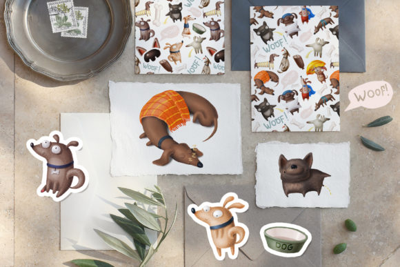 Print on Demand: Huge Set of Funny Animals Graphic Illustrations By Architekt_AT - Image 2