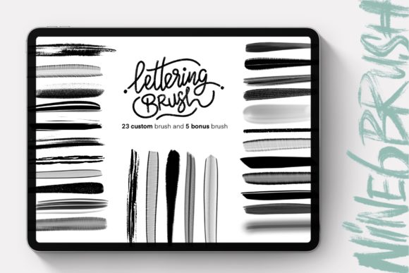 Print on Demand: Black Friyay BUNDLE Graphic Brushes By DK Project - Image 16