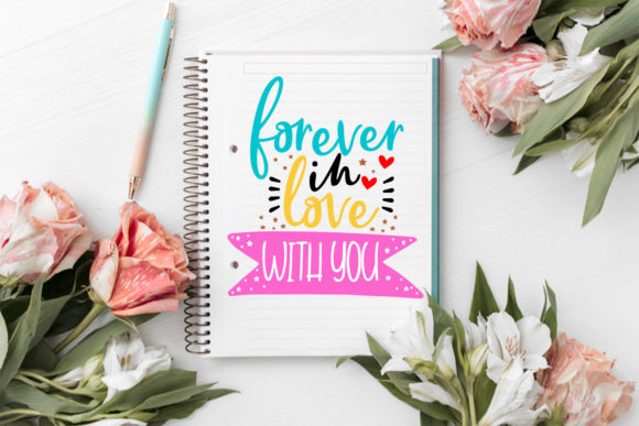 Download Free Cute Valentine S Day Overlays Valentine Graphic By Happy for Cricut Explore, Silhouette and other cutting machines.