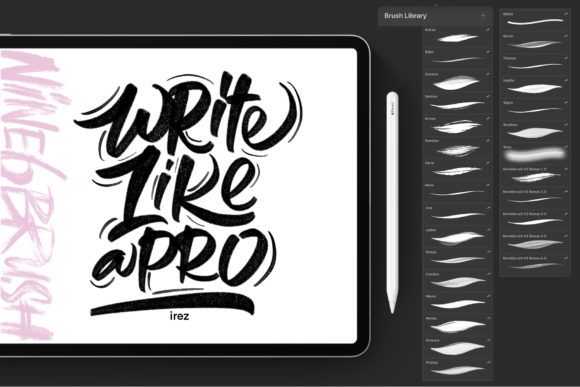 Print on Demand: Black Friyay BUNDLE Graphic Brushes By DK Project - Image 17