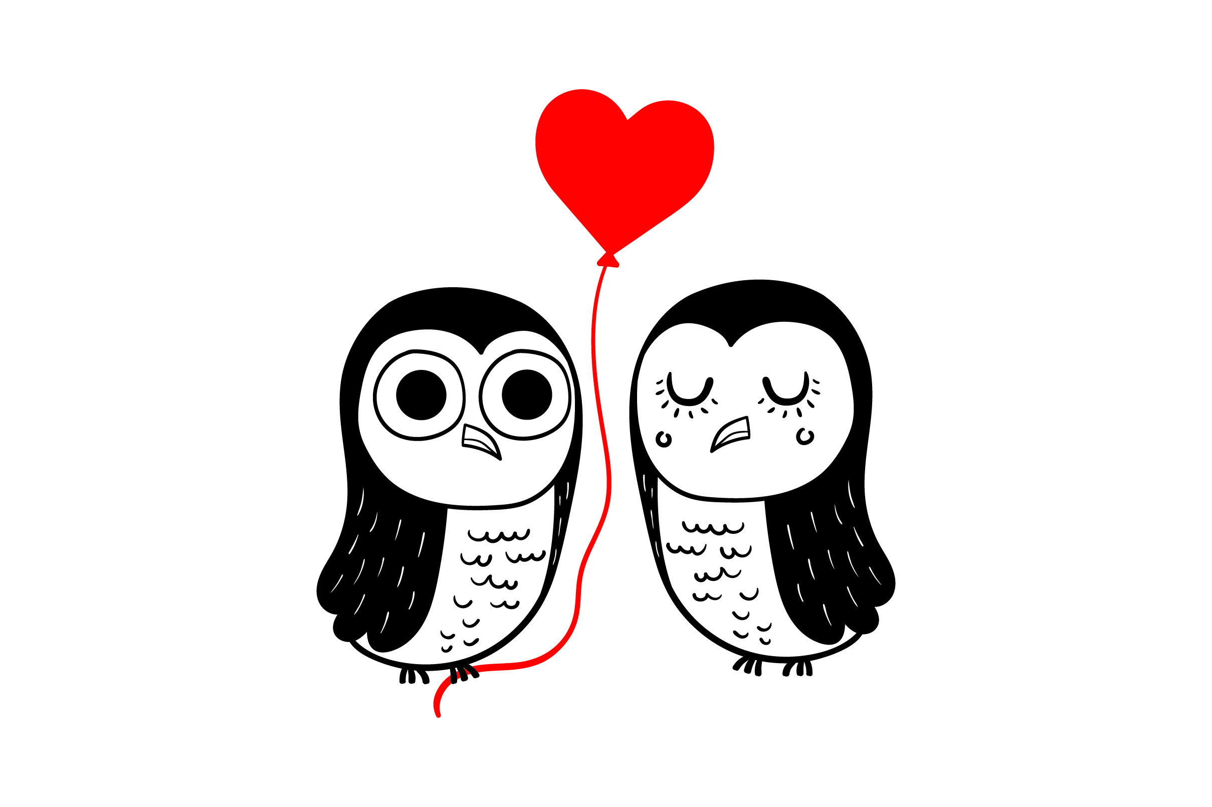 Download Free Lover Owls Svg Cut File By Creative Fabrica Crafts Creative for Cricut Explore, Silhouette and other cutting machines.