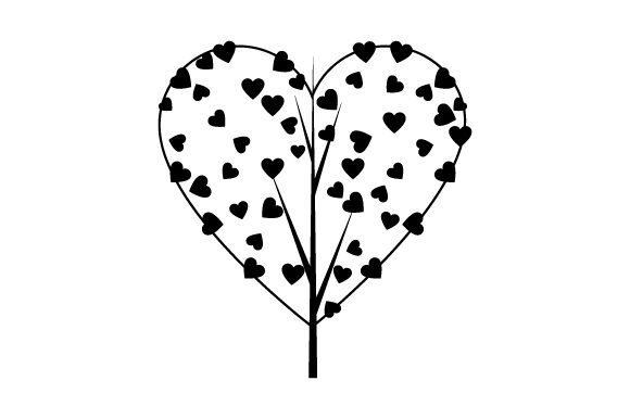 Download Free Tree With Heart Foliage Svg Cut File By Creative Fabrica Crafts for Cricut Explore, Silhouette and other cutting machines.