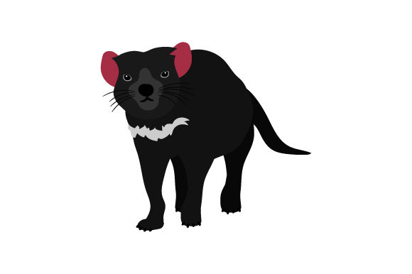 Tasmanian Devil Australia Craft Cut File By Creative Fabrica Crafts - Image 1