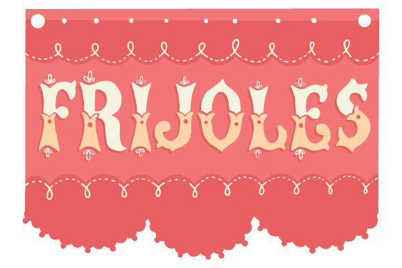 Frijoles Mexico Craft Cut File By Creative Fabrica Crafts