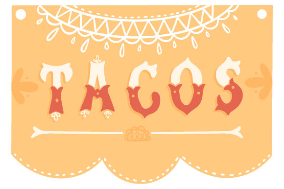 Tacos Mexico Craft Cut File By Creative Fabrica Crafts - Image 1
