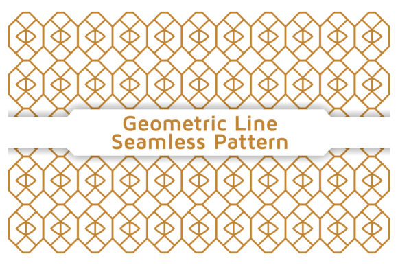 Pattern Geometric Line Gráfico Moldes Por Acongraphic