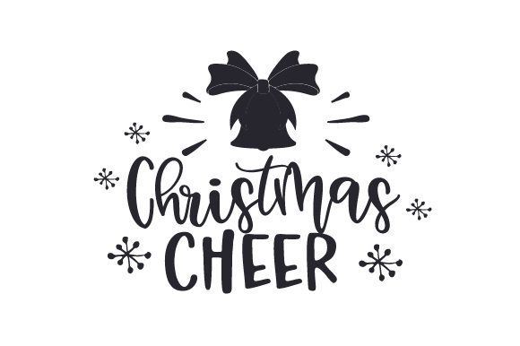 Download Free Christmas Cheer Svg Cut File By Creative Fabrica Crafts for Cricut Explore, Silhouette and other cutting machines.