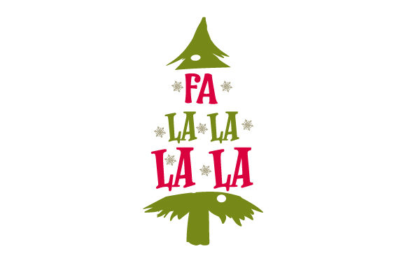 Download Free Fa La La La La Svg Cut File By Creative Fabrica Crafts for Cricut Explore, Silhouette and other cutting machines.