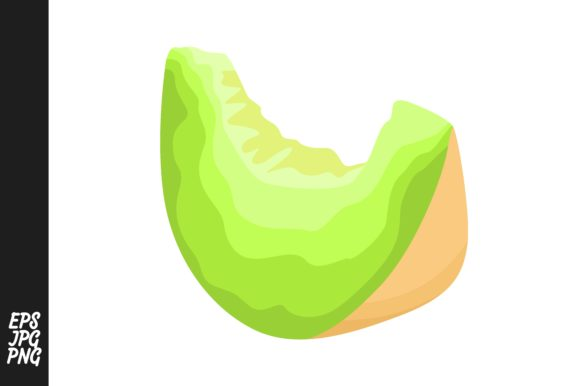 Print on Demand: Melon Fruit Vector PNG Graphic Crafts By Arief Sapta Adjie