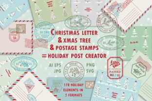 Print on Demand: Christmas Post Creator Graphic Illustrations By z.zajka