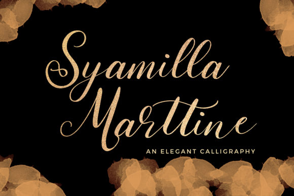 Print on Demand: Syamilla Marttine Script & Handwritten Font By formatikastd