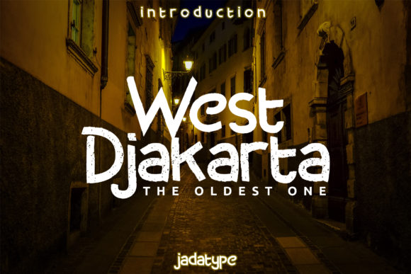 West Djakarta Font Design Item