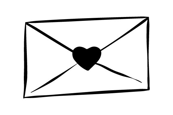 Download Free Envelope With Heart Svg Cut File By Creative Fabrica Crafts for Cricut Explore, Silhouette and other cutting machines.