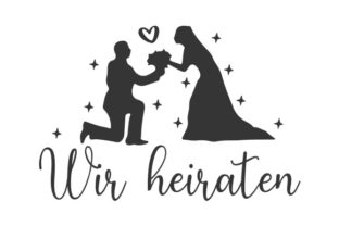 Wir Heiraten Germany Craft Cut File By Creative Fabrica Crafts