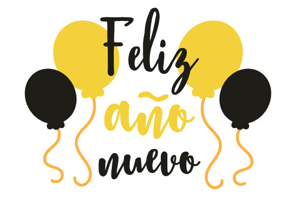 Download Free Feliz Ano Nuevo Svg Cut File By Creative Fabrica Crafts for Cricut Explore, Silhouette and other cutting machines.