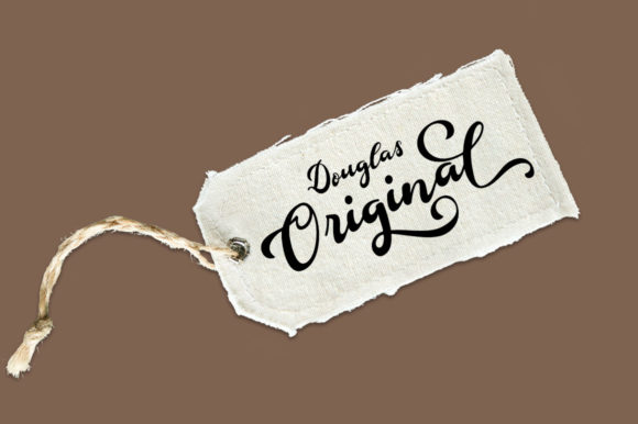 Print on Demand: Douglas Script & Handwritten Font By Aqeela Studio - Image 2