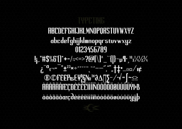 Print on Demand: Mobster Display Font By Typeting Studio - Image 3